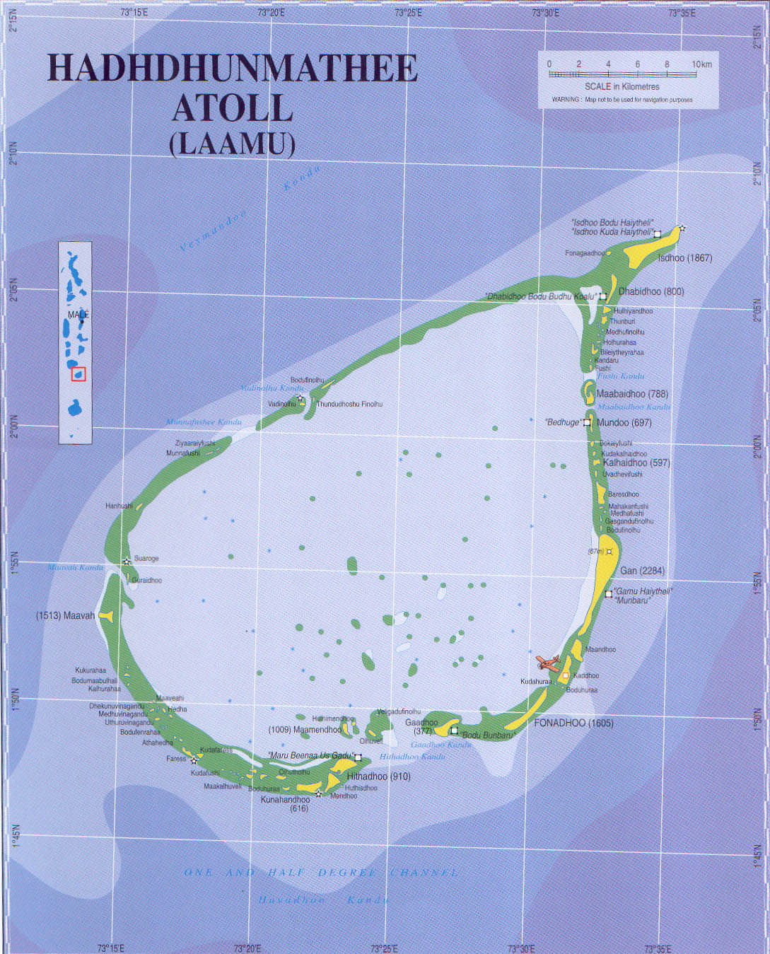 Maldives Maps