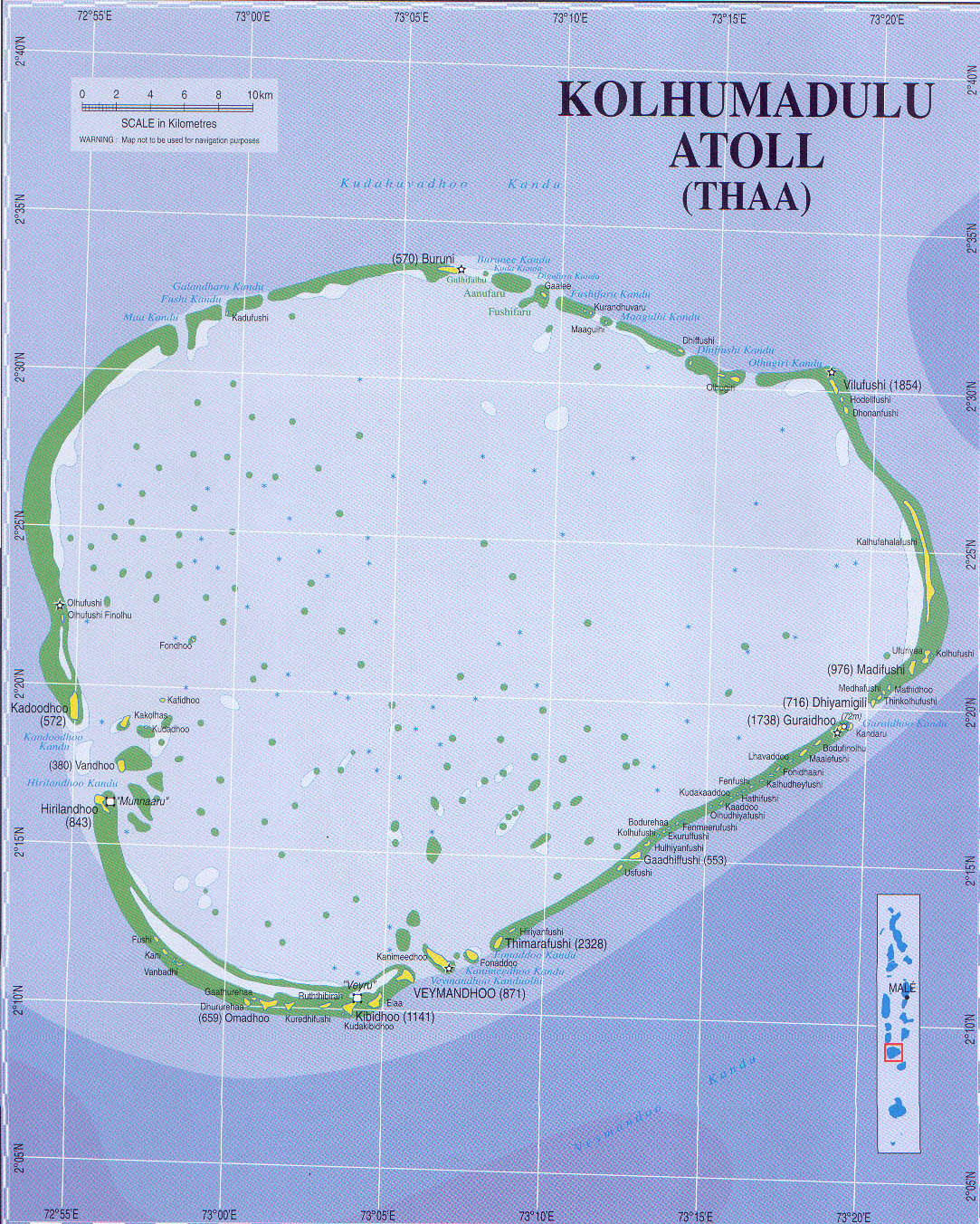 Maldives Maps